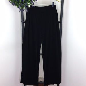 Clara Sun Woo Black Palazzolo Pants